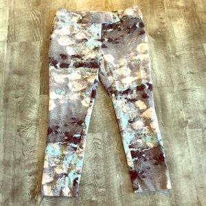 Mossimo Abstract Stretch Ankle Pants